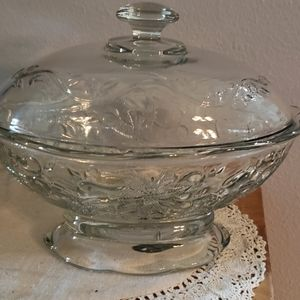Princess house candy oval candy dish
